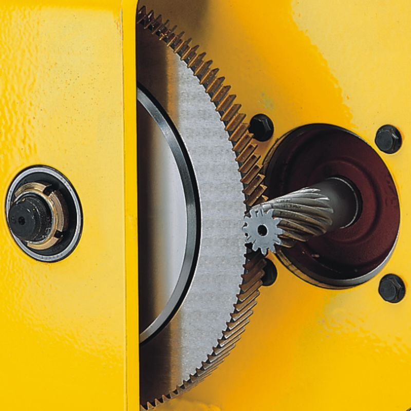 Yale RPA 2-13 - RPA pneumatyczna wciągarka linowa - przeniesienie napędu