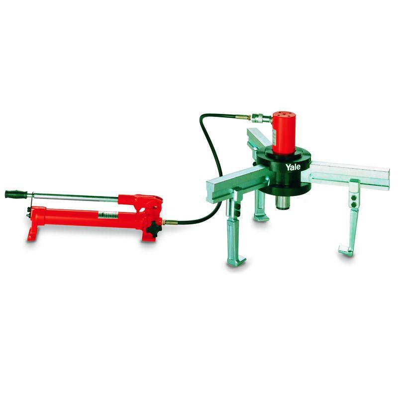 Yale BMZ z oddzielną hydrauliką - Yale BMZ - ściągacz hydrauliczny z odseparowaną hydrauliką wyposażony w obrotowo nastawialne ramiona
