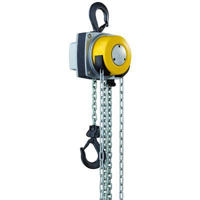 Yalelift YL 10000 - wciągnik z 3 pasmami łańcucha i obrotową obudową napędową
