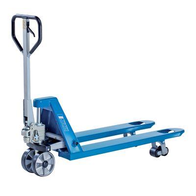 Pfaff HU 25-80 TP PROLINE - krótki ręczny wózek paletowy z pojedynczymi rolami nośnymi