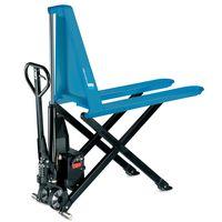 Pfaff HU ES 10 B - ręczny wózek paletowy z elektrycznym hydraulicznym podnośnikiem nożycowym