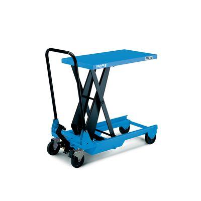 Pfaff HF SM - ręczny wózek platformowy z hydraulicznym podnośnikiem nożycowym