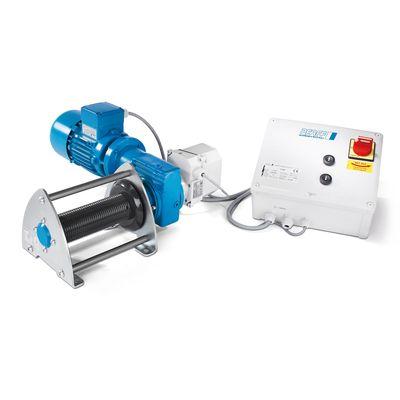 Pfaff Beta SL 250L - wciągarka linowa ze żłobionym bębnem i prędkością nawijania 2,5 m/min