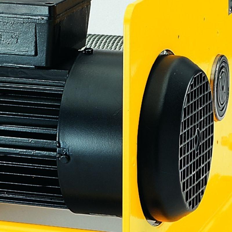 Yale RPE 10-6 400V - hamulec tarczowy w silniku