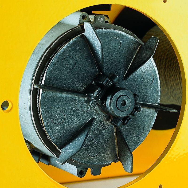 Yale RPE 10-6 230V - hamulec tarczowy w silniku z elementem chłodzącym
