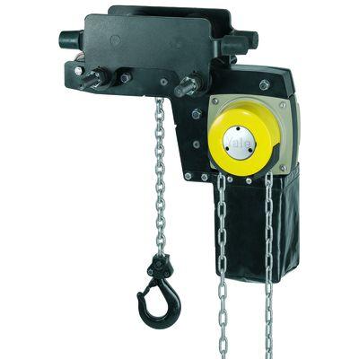 YaleLIFT LHP - ręczny wciągnik łańcuchowy o niskiej zabudowie z wózkiem