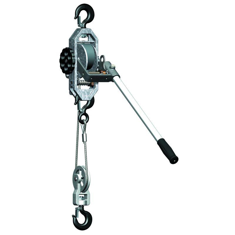 wciągnik linowy ręczny 900 kg - Yale LM S 404 WN-VB