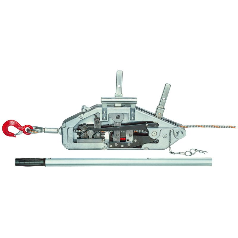 YaleTRAC - przeciągarka linowa z aluminiowym korpusem - przekrój poprzeczny