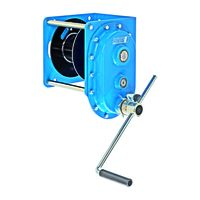 Pfaff MWS 1500 - stacjonarna ręczna wciągarka linowa z przekładnią czołową