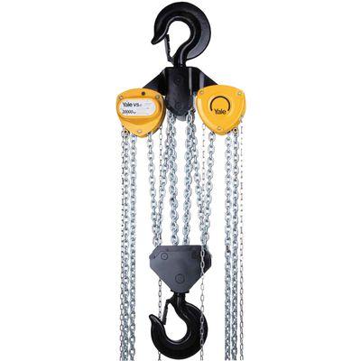 Yale VSIII 20/8 - ręczny wciągnik łańcuchowy o udźwigu 20 ton