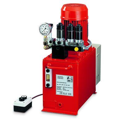 Yale PYE - jednostopniowa pompa hydrauliczna z silnikiem elektrycznym