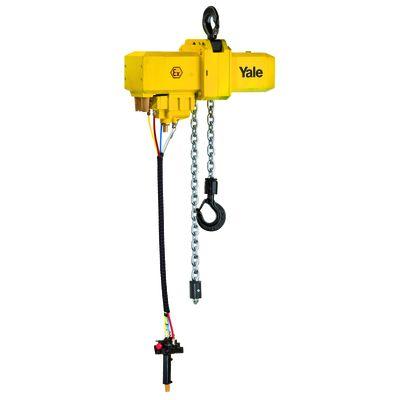 Yale CPA 75-3 - pneumatyczny wciągnik łańcuchowy o udźwigu 7,5 tony