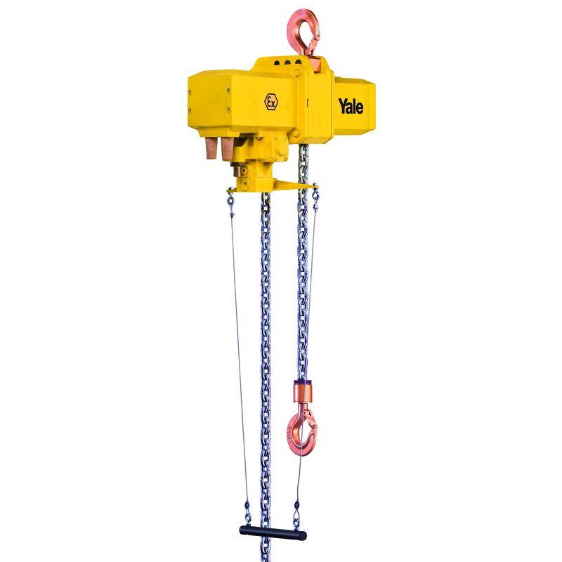 Yale CPA 20-8 - Yale CPA 20-8 EX - pneumatyczny wciągnik łańcuchowy o udźwigu 2 ton w wersji ATEX