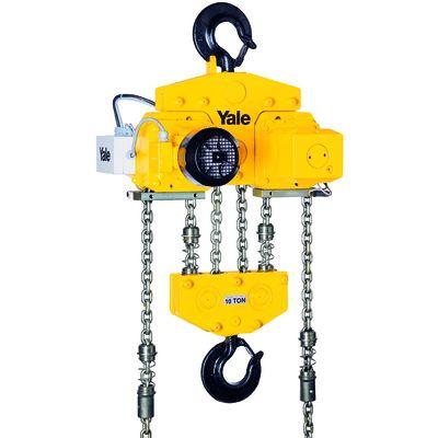 Yale CPE 100-2 - przemysłowy wciągnik łańcuchowy na haku o udźwigu 10 ton!