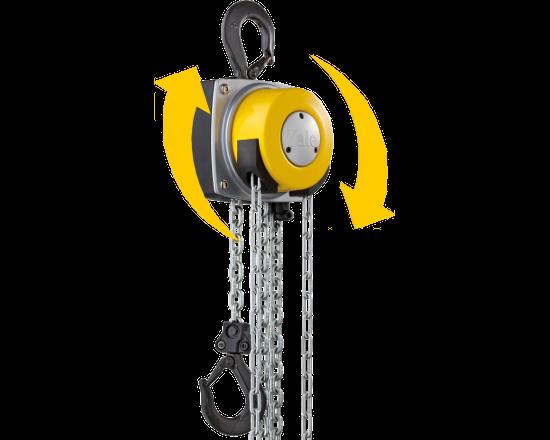wciągarka łańcuchowa ręczna yale 360