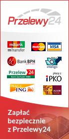 Bezpieczne płatności Przelewy24